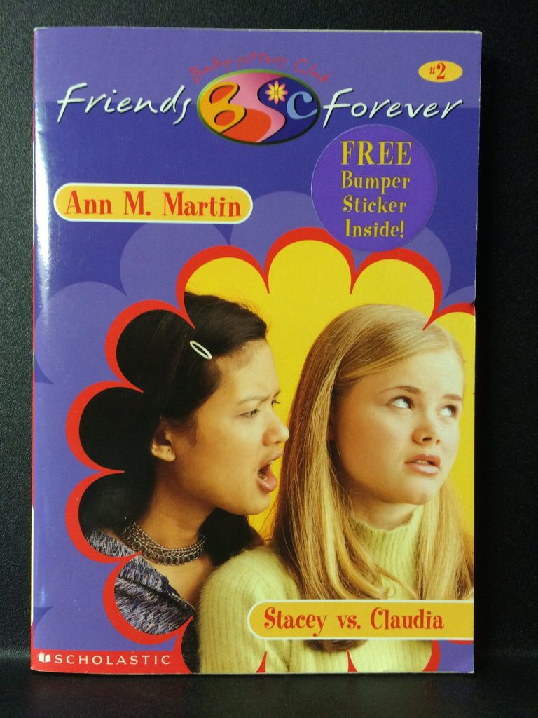 Stacey Vs. Claudia (Best Friends Forever) by Ann M. Martin (Copy#26Jul2016)