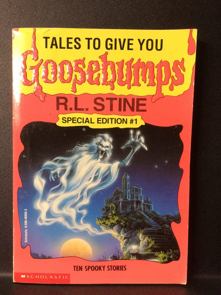 Tales to Give You Goosebumps (Special Edition #1) by R.L. Stine (Copy#26Jul2016)