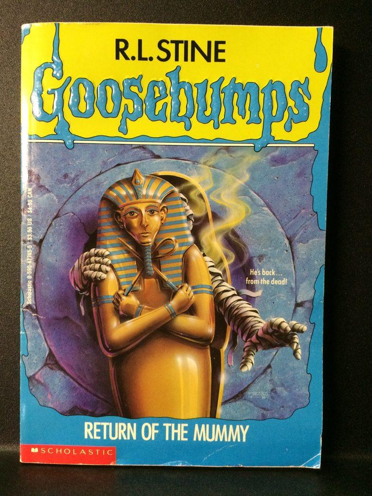 Return of the Mummy (Goosebumps) by R.L. Stine (Copy#26Jul2016)