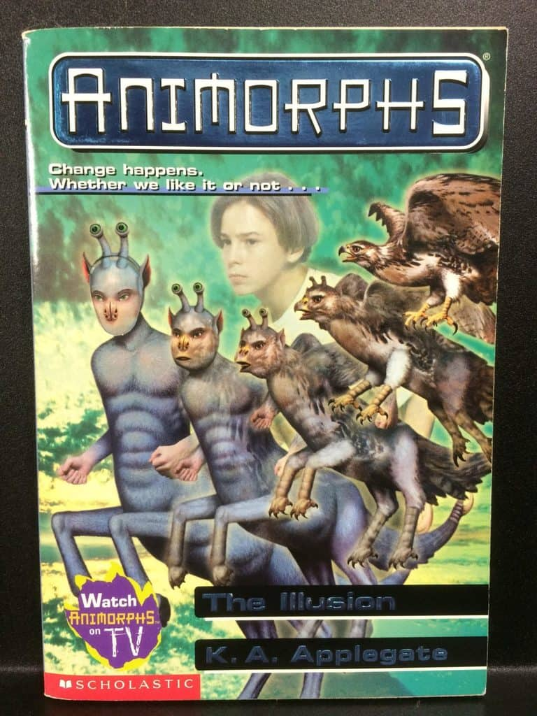 The Illusion (Animorphs) by K.A. Applegate (Copy#21Aug2017)