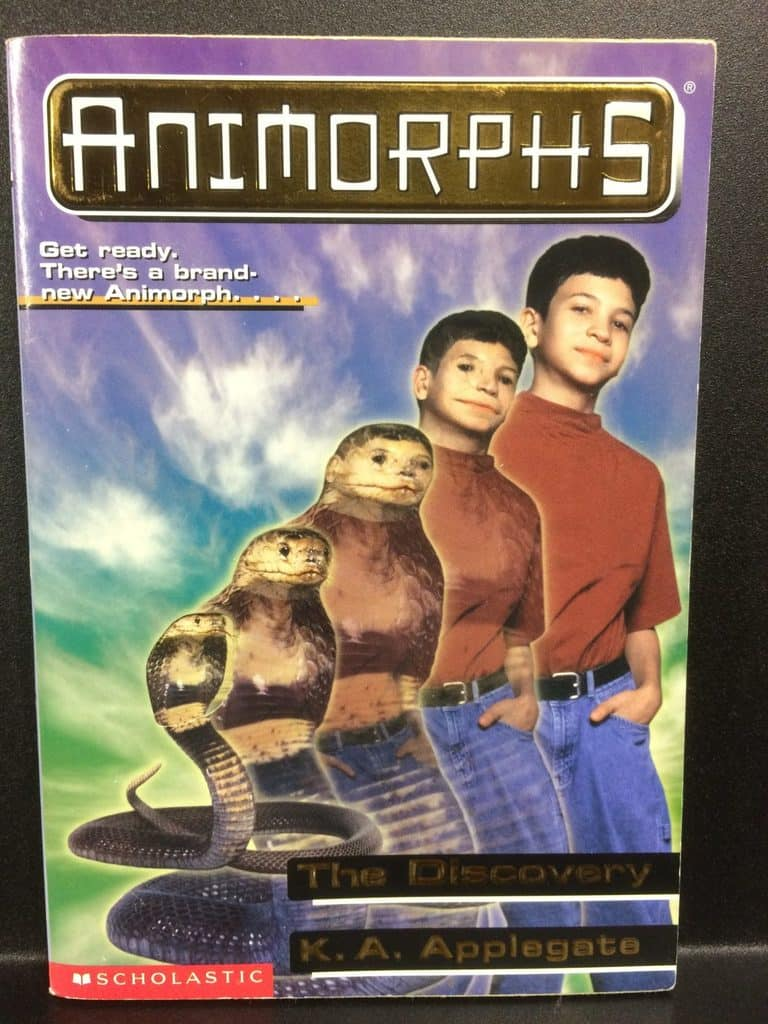 The Discovery (Animorphs) by K.A. Applegate (Copy#21Aug2017)