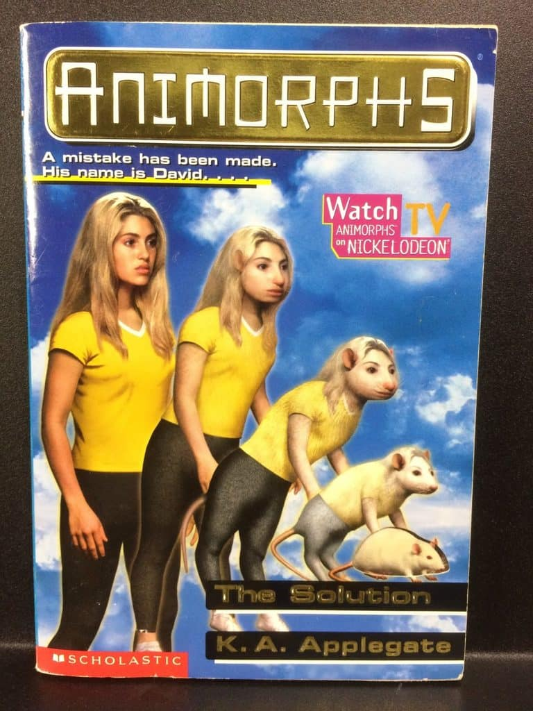The Solution (Animorphs) by K.A. Applegate (Copy#21Aug2017)