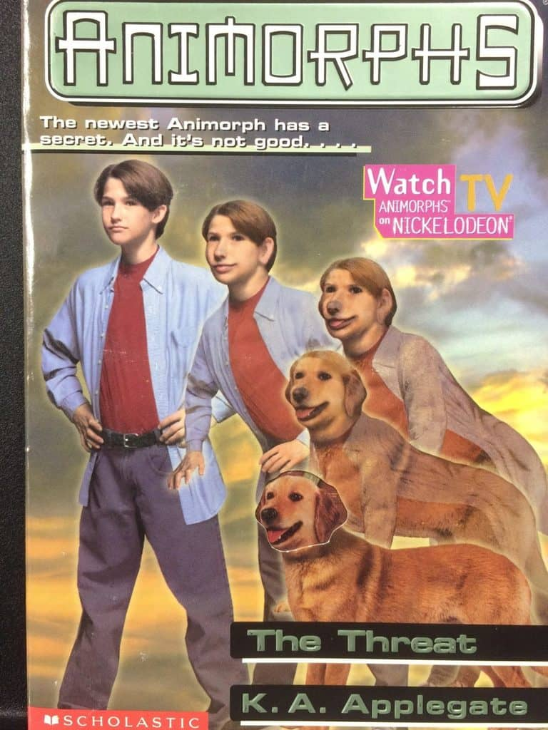 The Threat (Animorphs) by K.A. Applegate (Copy#21Aug2017)