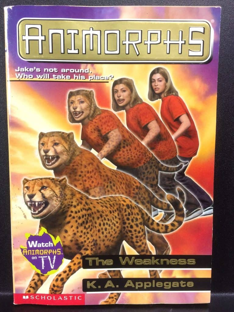 The Weakness (Animorphs) by K.A. Applegate (Copy#21Aug2017)