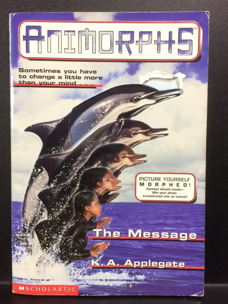 The Message (Animorphs) by K.A. Applegate (Copy#21Aug2017)