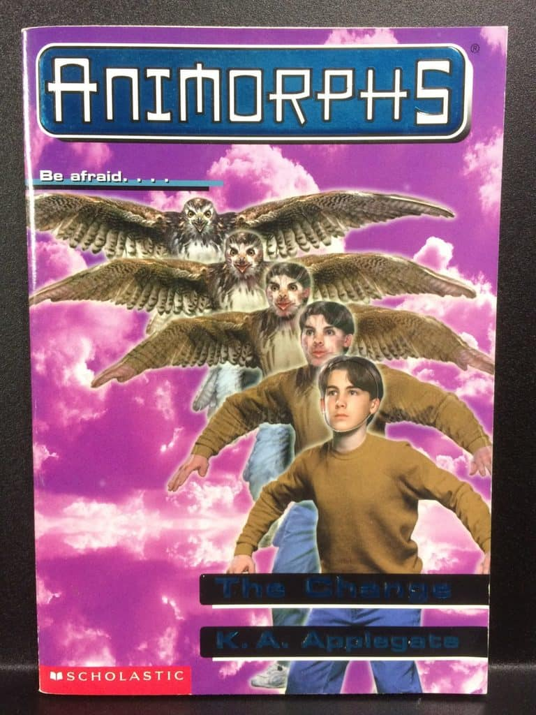 The Change (Animorphs) by K.A. Applegate (Copy#21Aug2017)
