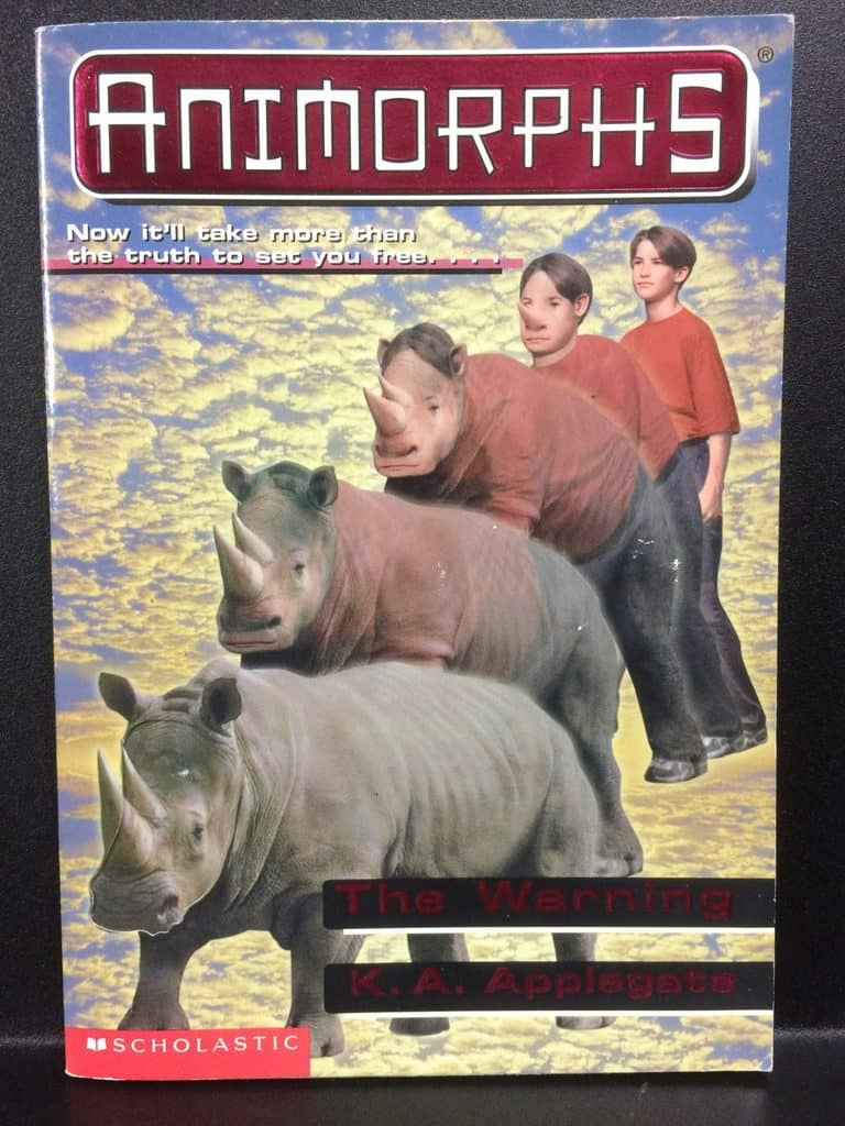 The Warning (Animorphs) by K.A. Applegate (Copy#21Aug2017b)