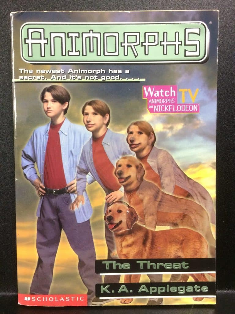 The Threat (Animorphs) by K.A. Applegate (Copy#21Aug2017b)