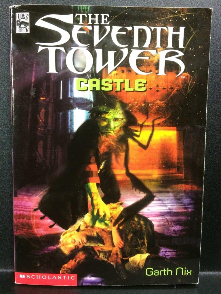 The Seventh Tower Castle by Garth Nix (Copy#21Aug2017)