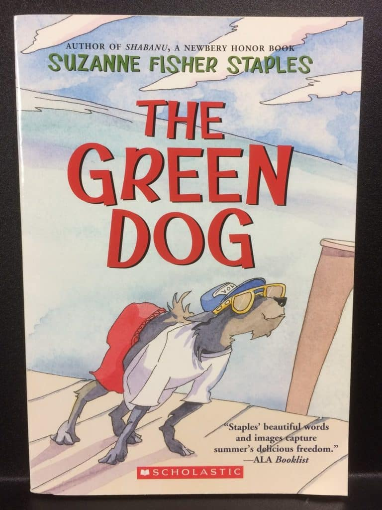 The Green Dog by Suzanne Fisher Staples (Copy#21Aug2017)