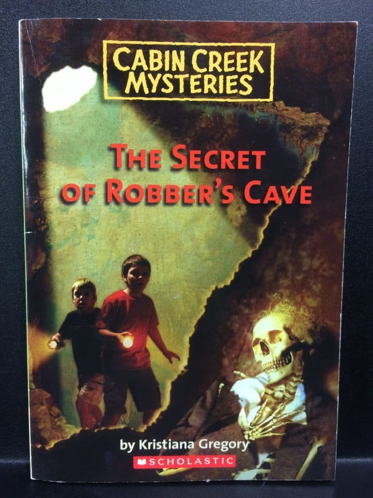 The Secret of Robber's Cave by Kristiana Gregory (Copy#21Aug2017)