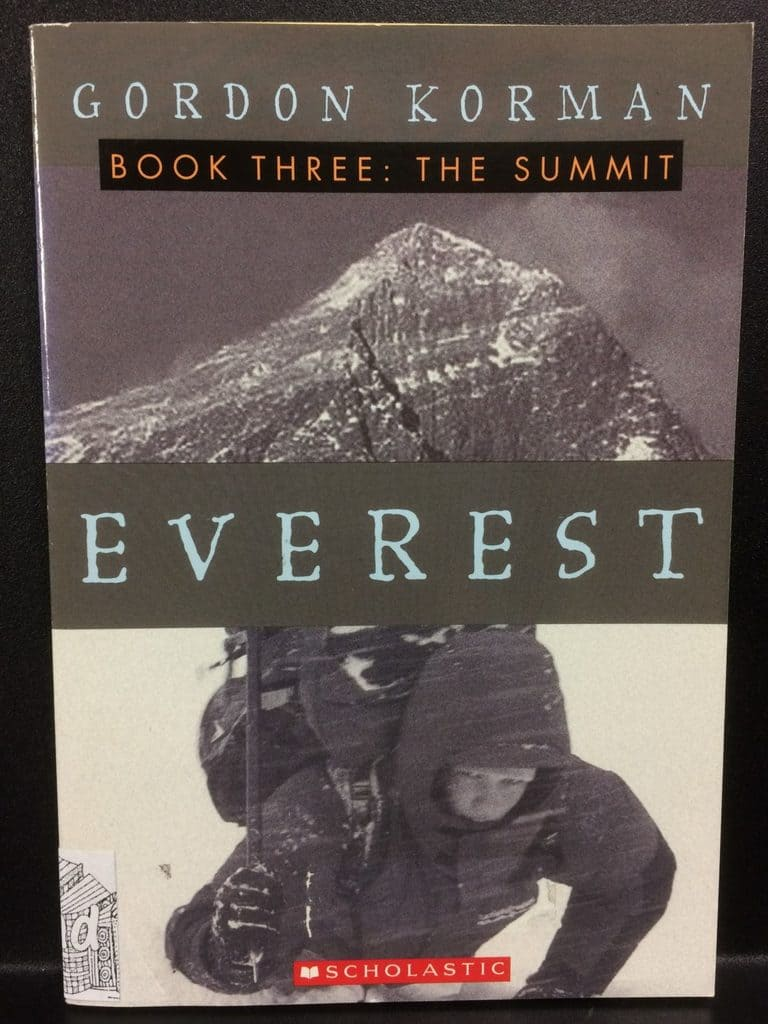 The Summit (Everest Book Three) by Gordon Korman (Copy#21Aug2017)